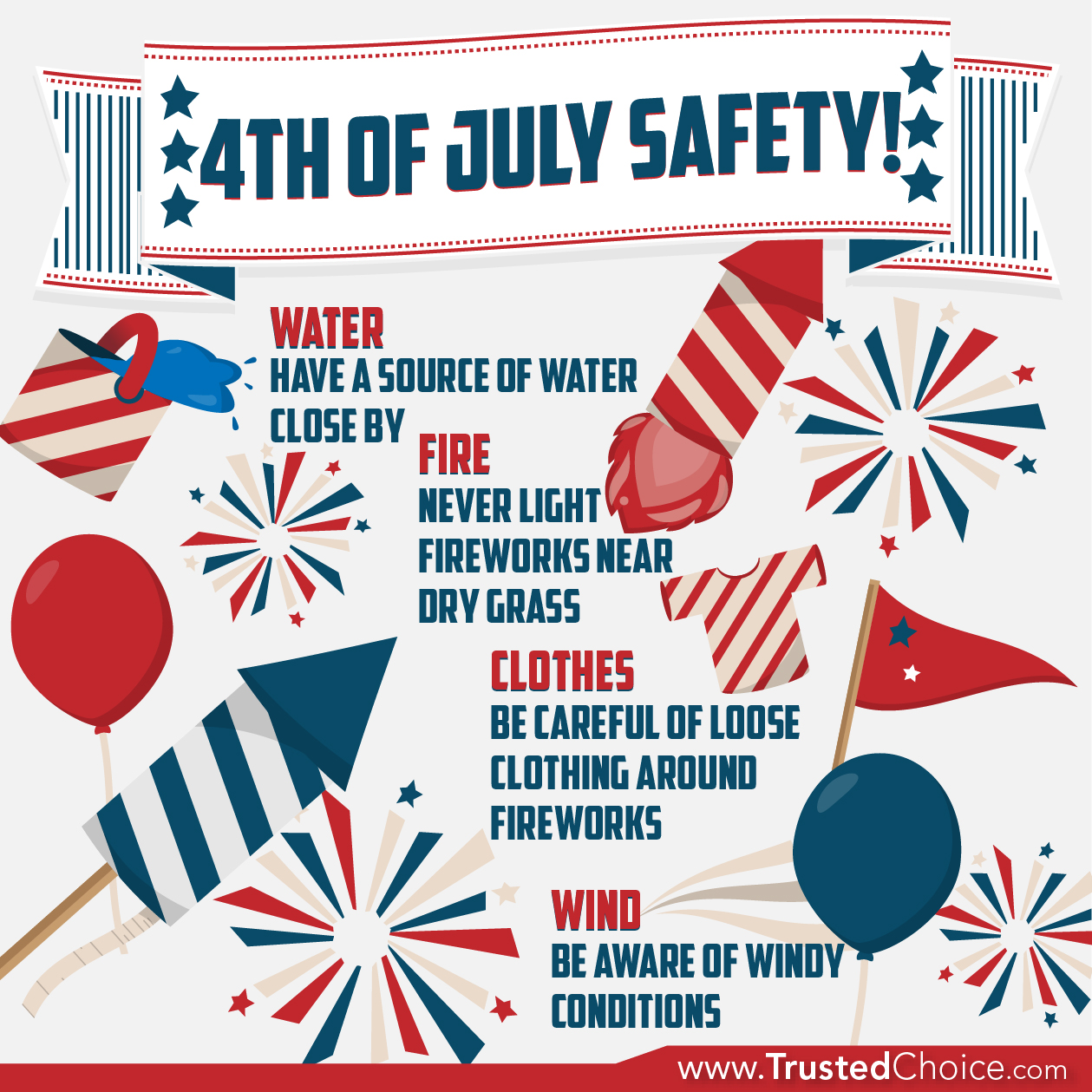 Fireworks Safety to Maximize Holiday Enjoyment