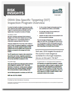 OSHA SST Inspection Program