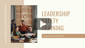 Leadership Safety Training